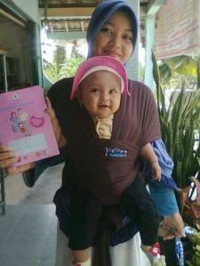 Gendongan Bayi Hanaroo Baby Wrap