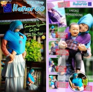 Jual Hanaroo Baby Wrap